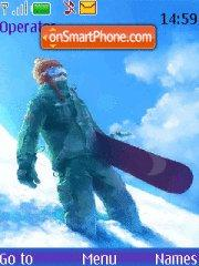 Snowboarding 05 theme screenshot