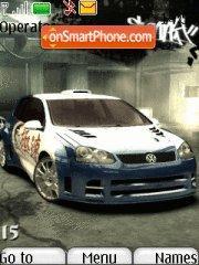 Скриншот темы Nfs Most Wanted 08