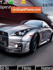 Nissan Gtr 04 theme screenshot