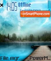Blue Sky 05 es el tema de pantalla