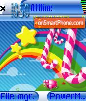 Fairy Land 01 es el tema de pantalla
