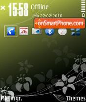 Aesthetic Series morning theme screenshot