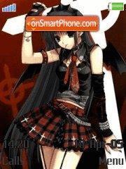 Anime girls es el tema de pantalla