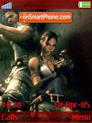Resindent Evil 5 v.1.3 Revolution 1.2 theme screenshot