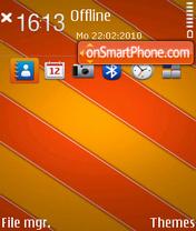 Tie red fp1 theme screenshot