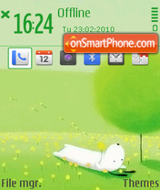 Скриншот темы In spring mcc