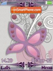 Butterfly 11 es el tema de pantalla