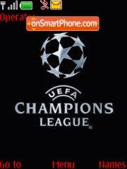 Uefa Champions theme screenshot