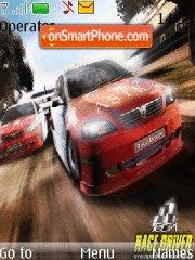 Race driver tema screenshot