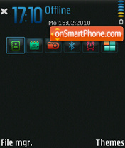 NoLogo 3rd tema screenshot