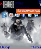Pirates of the Caribbean v1 theme screenshot