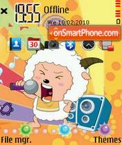 Capture d'écran Lanyangyang thème