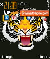 Tiger 24 Theme-Screenshot