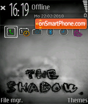 The shadow 01 theme screenshot