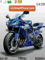 Motocicleta theme screenshot
