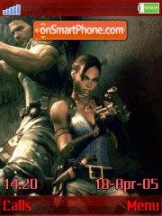 Resindent Evil 5 v.1.4 Revolution 1.2 theme screenshot
