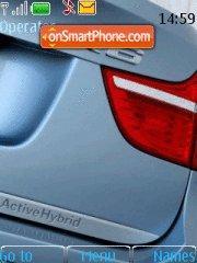 Скриншот темы BMW X6