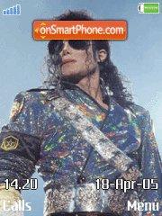 Скриншот темы Michael Jackson Live