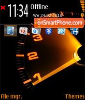 Tahometer theme screenshot