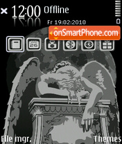 Tired theme screenshot