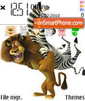 Madagascar 2 04 es el tema de pantalla