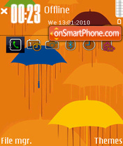 Umbrella 02 theme screenshot