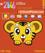 Tiger fp1 theme screenshot