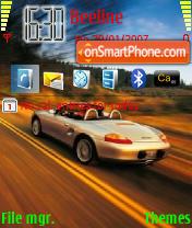 Porsche GT theme screenshot