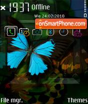 3d Vectors theme screenshot