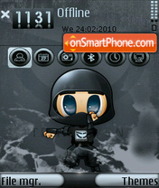 TehkSEVEN 01 theme screenshot
