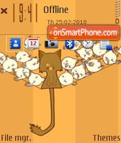Cat n birds theme screenshot