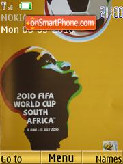 2010 FIFA World Cup theme screenshot
