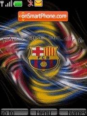 Fc Barcelona 10 theme screenshot