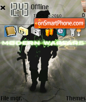 Cod 01 theme screenshot