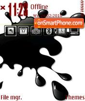 Скриншот темы Black 16
