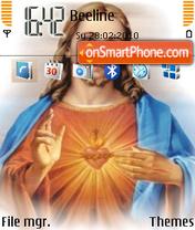 Скриншот темы Jesus 04