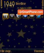 Stars 09 theme screenshot