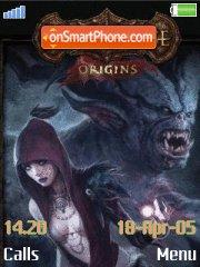 Dragon Age Origins es el tema de pantalla