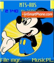 Mickey2 es el tema de pantalla