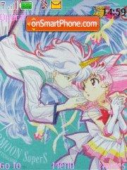 Chibiusa&Helios tema screenshot