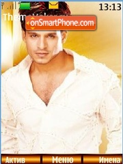 Vivek Oberoi theme screenshot