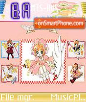 Sakura Revolution theme screenshot