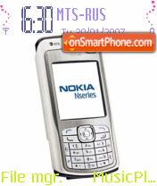 N70 theme screenshot