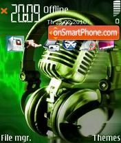 Headphone Mic theme screenshot