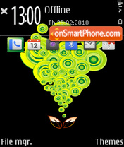 Go Green tema screenshot