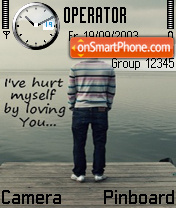 By Loving U es el tema de pantalla