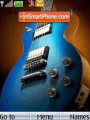 Скриншот темы Guitars