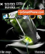 Скриншот темы Alienware 08