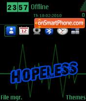 Hopeless es el tema de pantalla