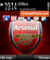 Arsenal 240x320 es el tema de pantalla